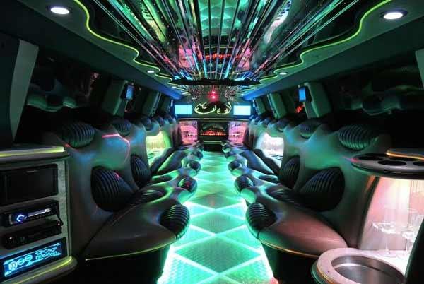 Hummer limo interior jacksonville
