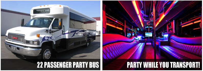 Airport Transportation Party Bus Rentals Jacksonville