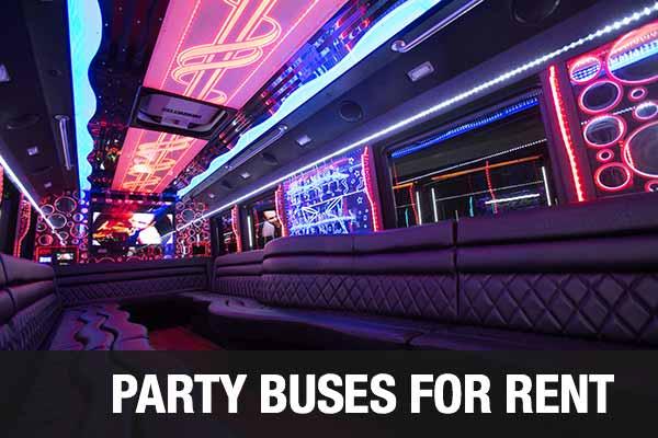 Wedding Transportation Party Bus Jacksonville